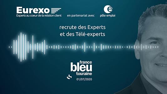 Eurexo sur France Bleu Touraine
