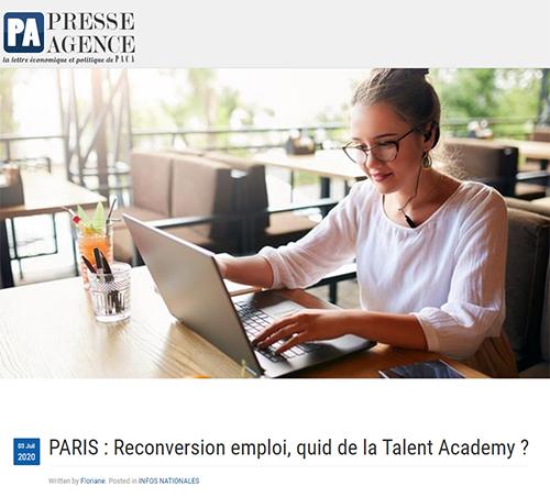 Reconversion emploi, quid de la Talent Academy ?