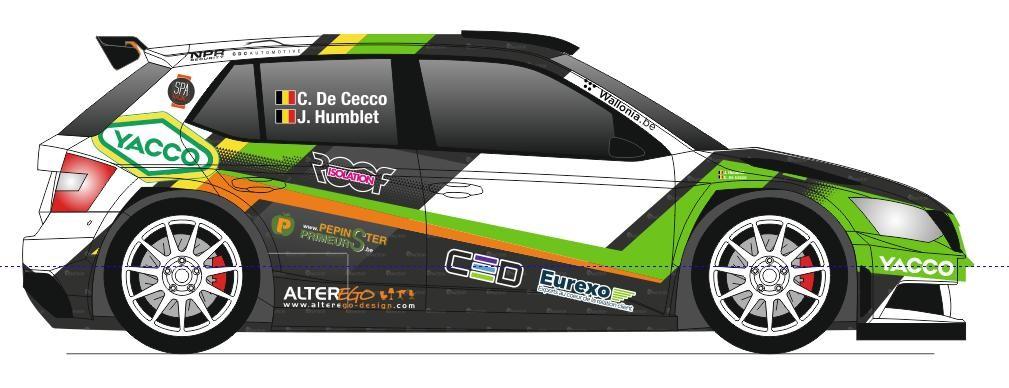 Top 5 en WRC3 pour Cédric De Cecco  au Rallye Monte-Carlo 2021 !