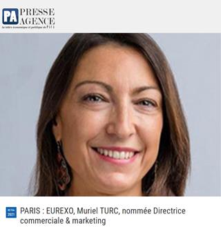 PARIS : EUREXO, Muriel TURC, nommée Directrice commerciale & marketing