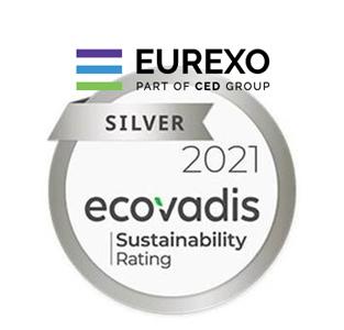 Eurexo part of CED Group conserve la médaille d'argent Ecovadis !